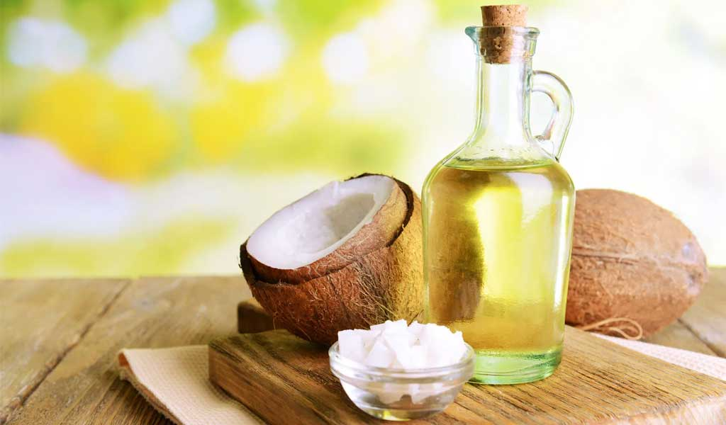likwidacja blizn. Wybielanie blizn za pomocÄ… oleju kokosowego
